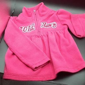 Old Navy 3T Pink Fleece Pull over